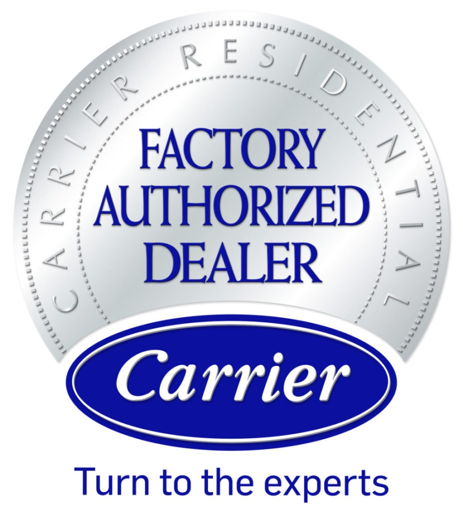 Carrier Residential Factory Authorized Dealer.